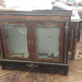 Cabinet antique furniture restorer Canterbury